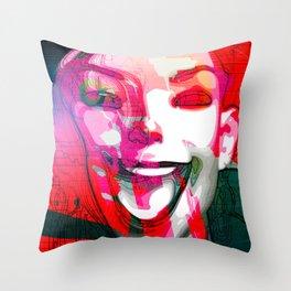 Euphorica Throw Pillow