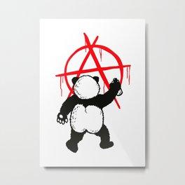 Pandalism Metal Print