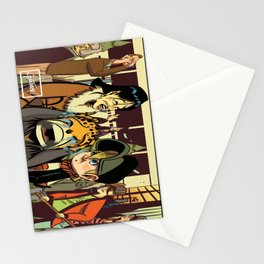 Crying Cat Stationery Cards