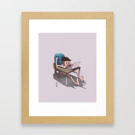 OHS Desk Framed Art Print