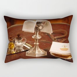 Holy communion Rectangular Pillow