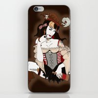 pirate iPhone & iPod Skins featuring Pirate by AnnaCas