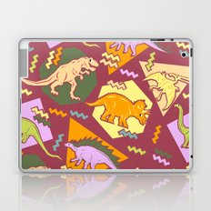Nineties Dinosaur Pattern version 2. Laptop & iPad Skin