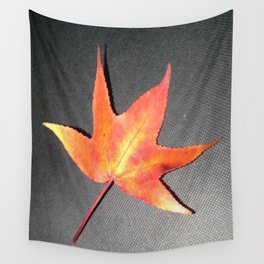 A Single Leaf Wall Tapestry