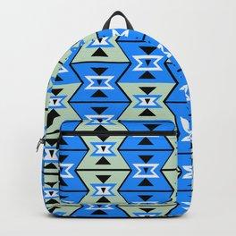 Blue shapes Backpack