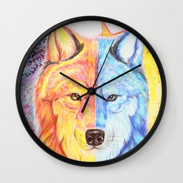 The peacekeeper Wall Clock