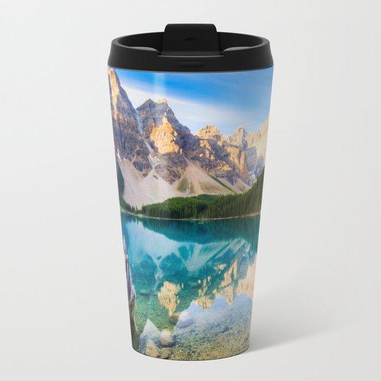 Nature 5 Metal Travel Mug