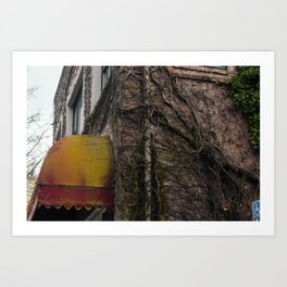 Weathered Building - Ashland, OR Art Print