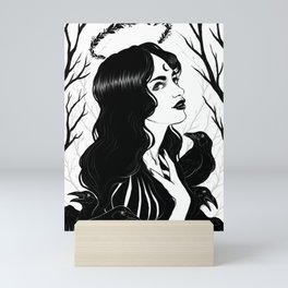 Forest Witch Mini Art Print