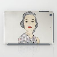 silver iPad Cases featuring Silver by John Murphy