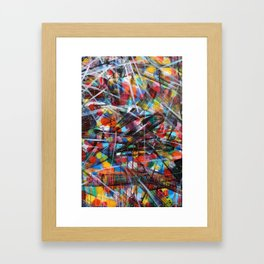 Abstract Street Art Framed Art Print