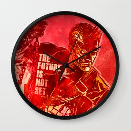 Terminator 2 - The Future Is Not Set Wall Clock