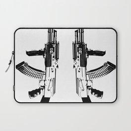 BLACK AK 47 Laptop Sleeve