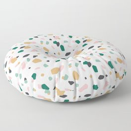 Tropical Terrazzo Floor Pillow