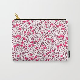 Red rose bush Carry-All Pouch