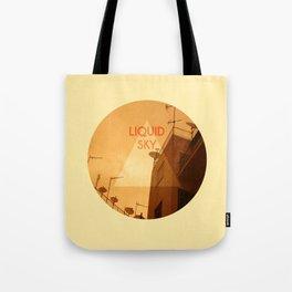 Liquid Sky Tote Bag