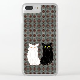 Opposites Attract 2 Clear iPhone Case