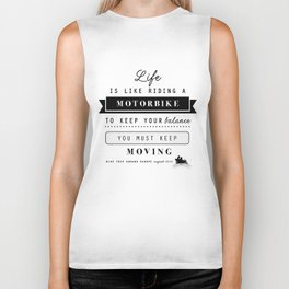 Motorbike - Life is like riding ... Biker Tank