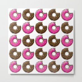 You can't buy happiness, but you can buy many DONUTS. Metal Print