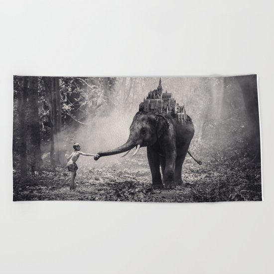 Dreamland Beach Towel