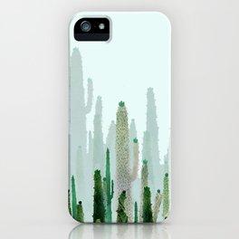 horizont cactus iPhone Case