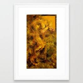 Yellowed Male Framed Art Print