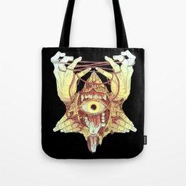 gold eye Tote Bag