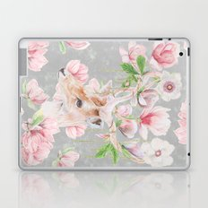Deer Head & Magnolia's  Laptop & iPad Skin