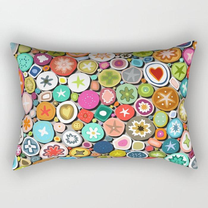 millefiori Rectangular Pillow