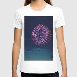 Purple Fireworks T-shirt