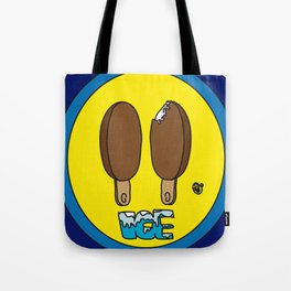 Icecream Smiley Tote Bag
