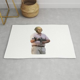 Cul De Sac Commando George Washington Rug