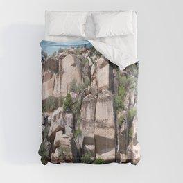Unusual Rock Formations Near Cine Comforters