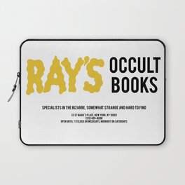 Ray's Occult Books Ghostbusters tribute Laptop Sleeve