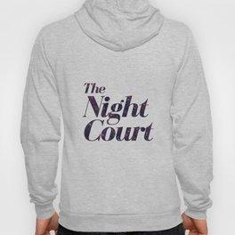 The Night Court Galaxy Design White Hoody