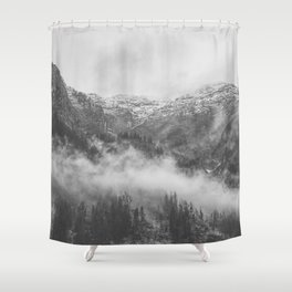 Moody clouds 2 Shower Curtain
