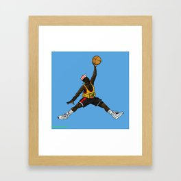 Sidney Jumpman Framed Art Print