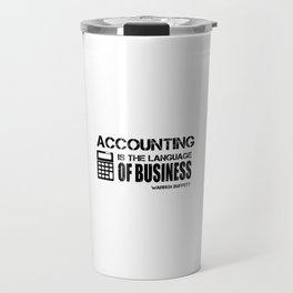 Accounting Travel Mug