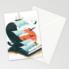Waves of Knowledge Stationery Cards