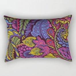 Paisley Dreams - autumn colors Rectangular Pillow
