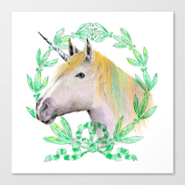Unicorn IV Canvas Print
