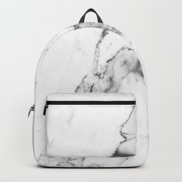White Marble I Backpack