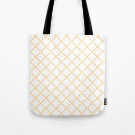 Criss Cross Tote Bag