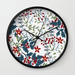 christmas-1 Wall Clock