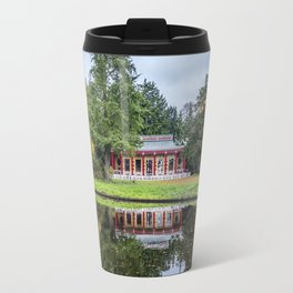 Surrounded by Autumn Travel Mug