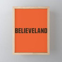 Believeland Framed Mini Art Print
