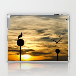 Birds in the sunset Laptop & iPad Skin