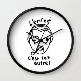 L'enfer Wall Clock