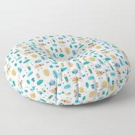 Beetles #2 Floor Pillow