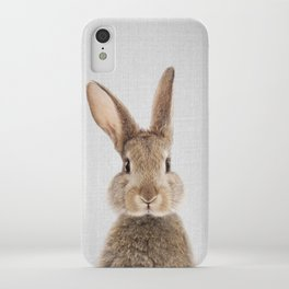 Rabbit - Colorful iPhone Case